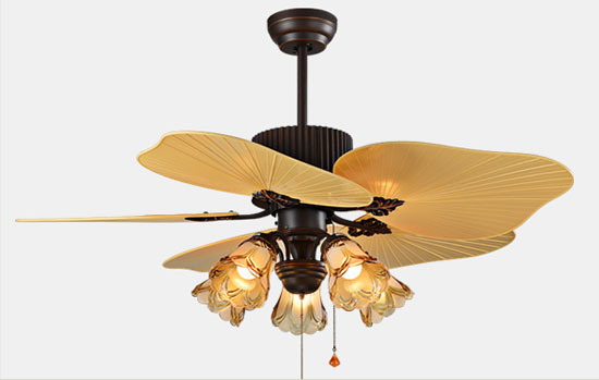 44 inch decorative high quality Luxurious ceiling fans Lights