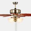 48 inch decorative design Luxurious ceiling fans lamp