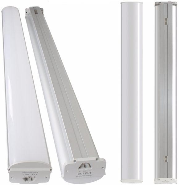 Led Pendant Shop Lights: 4ft Led Shop Light Sling Rope Mounted Integrated LED Light