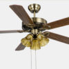 52 inch dc inverter decorative Ceiling Fans Lights With Remote1