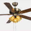 52 inch dc inverter decorative Ceiling Fans Lights With Remote2