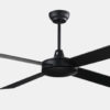 52 inch home appliance plywood black modern simple ceiling fans