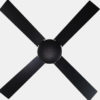 52 inch home appliance plywood black modern simple ceiling fans2
