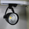 Aluminium housing dimmable led track light spot lights1