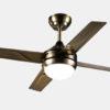 Elegant design decorative Matt Sliver ceiling fan Lights1