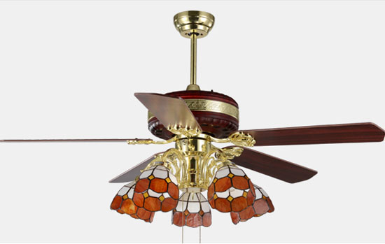 Fashion Antique Luxurious Ceiling Fans Remote Control With
