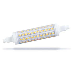 High Lumen Dimmable LED R7S replacing linear tungsten halogen lamp