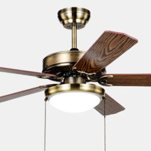 High end indoor decoration ceiling fan with single lamp for bedroom1
