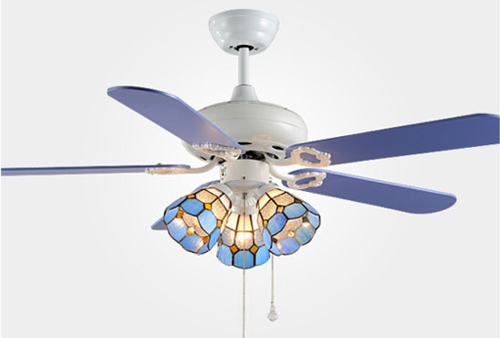 High quality multi-function decorative elegant style led ceiling fans