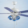 High quality multi-function decorative elegant style led ceiling fans1