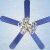 High quality multi-function decorative elegant style led ceiling fans2