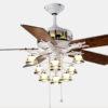 Living room decorative ceiling fan lights