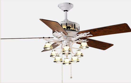 Living Room Decorative Ceiling Fan Lights