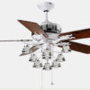 Living room decorative ceiling fan lights1