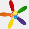 National energy saving kids decorative ceiling fan2