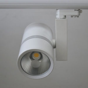 Track lighting system dimmable 10W 20W 30W 40W 50W COB led track lights