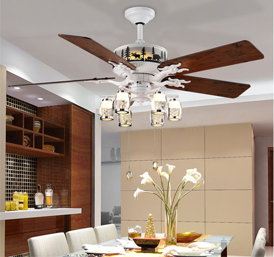52 Inch Electrical Decorative Ceiling Fan Pull Chain