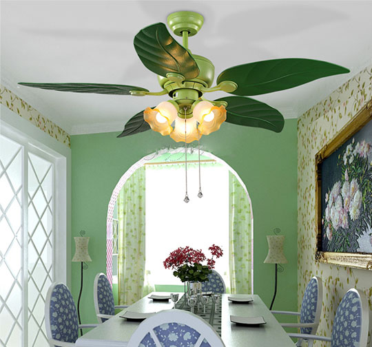 application of Best ceiling fans with remote control and led European ceiling fans Lamp