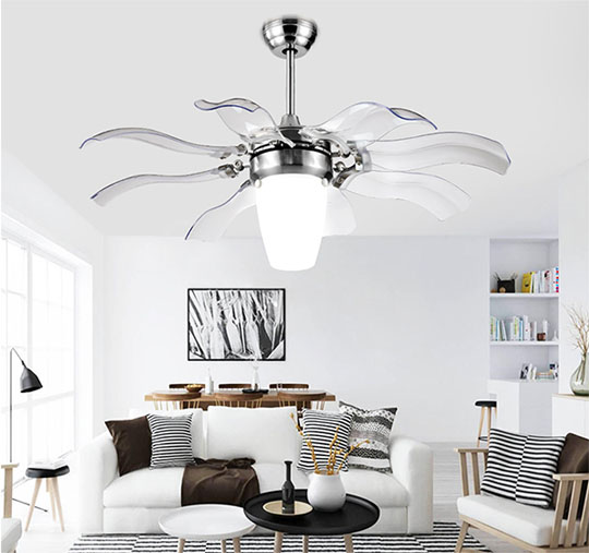 application of Decorative Plywood Blade modern simple ceiling fans