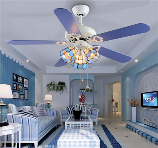 application of High quality multi-function decorative elegant style led ceiling fans