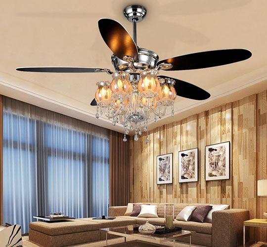 application of Home appliances modern factory ceiling fan Lights