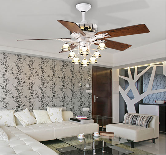Ceiling Fans With Lights For Living Room: Living Room Decorative Ceiling Fan Lights