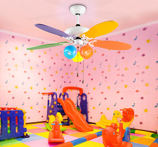 application of National energy saving kids decorative ceiling fan