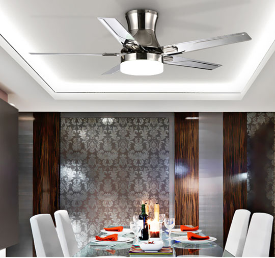 application of Simple eiling fan Single lamp ceiling fans