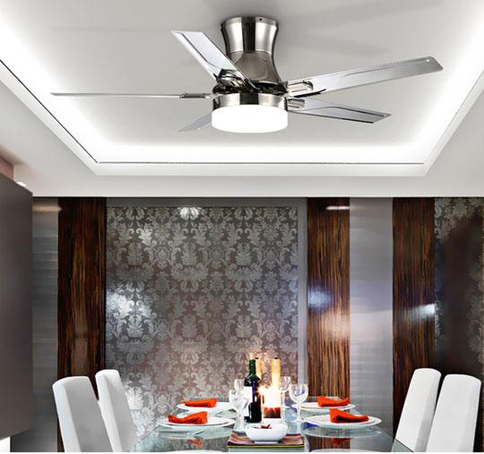 application of Simple eiling fan Single lamp ceiling fans