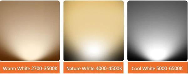 cct of Adjust LED grille light AR111 Fixture