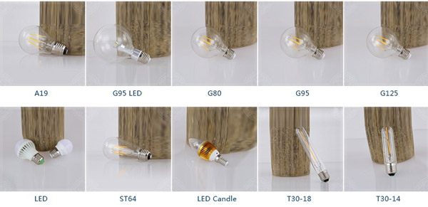 detail of Home decoration LED filament bulb1