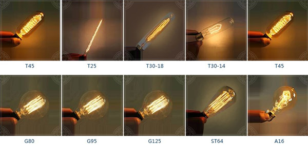 detail of Home decoration LED filament bulb2