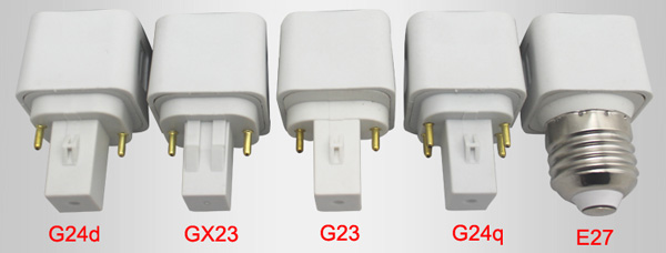 led base of G23 GX23 G24 E27 E14 LED Plug Lamp LED plug lights