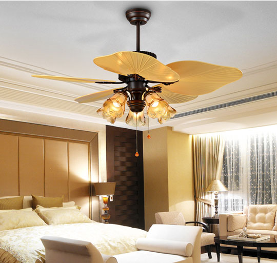 specification of 44 inch decorative high quality Luxurious ceiling fans Lights