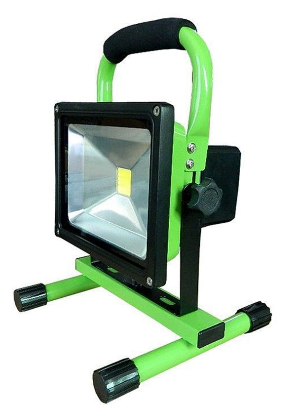 green-color-Rechargeable-LED-Flood-Light