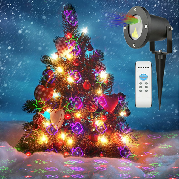 Christmas Decorating Star Laser Lights Waterproof Led Laser Lights Landscape Laser Shower Lights Ledgoods
