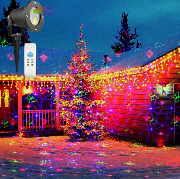 Application-of-Christmas-decorating-star-laser-lights-waterproof-led-laser-lights-landscape-laser-shower-lights