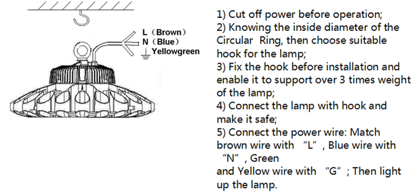 the-installation-of-LED-high-bay-light